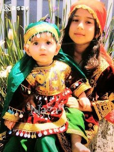 Pakhtun Kids wearing Traditional Cloths by AFGHANISTAN PASHTUNISTAN,