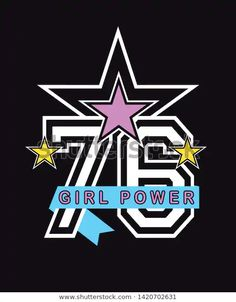 Design Girl, S Girls, Girl Power, Illustration, Numbers, Shirt Designs, Converse, Journal, Prints