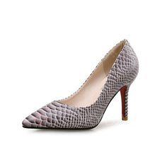 Shoes - $38.31 - Women's Pumps Closed Toe Heels Stiletto Heel Leatherette Shoes (1625111783)