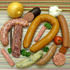 6 Different Varieties of Sausages