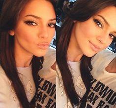 Kendall jenner makeup simple.