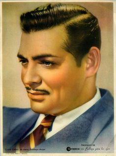 Clark Gable-Frankly my dear. Old Hollywood Style, Hollywood Icons, Hollywood Glamour, Hollywood Stars, Classic Hollywood, Old Movie Stars, Carole Lombard, Clark Gable, Most Handsome Men
