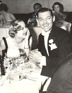 : Carole Lombard and Clark Gable. How awesome is this - Clark Gable Images, Pictures, Photos, Icons and Wallpapers: Ravepad - the place to rave about anything and everything! Old Hollywood Stars, Old Hollywood Glamour, Golden Age Of Hollywood, Vintage Hollywood, Classic Hollywood, Hollywood Couples, Hollywood Icons, Hollywood Party, Carole Lombard