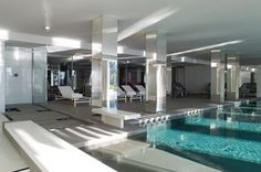 Indoor pool at La Reserve Spa Ramatuelle