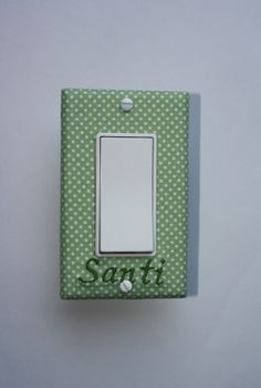 Personalized Light Switch Cover Http Craftsyoulove Blo