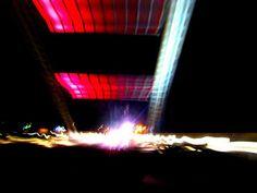 Matkojeni blogi: Aavasaksan silta. Valaistuna