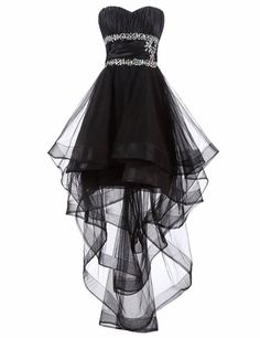 Black Semi Formal Dresses Vestido Curto High Low Prom Dresses With Crystals - Oriel D., - Black Semi Formal Dresses Vestido Curto High Low Prom Dresses With Crystals – Oriel D. High Low Cocktail Dress, Black High Low Dress, High Low Prom Dresses, Cute Prom Dresses, Semi Formal Dresses, Dresses Short, Prom Dresses 2018, Pretty Dresses, Beautiful Dresses