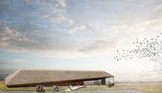Dorte Mandrup diseña un nuevo centro para el parque nacional más grande de Dinamarca