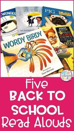 5 Back to School Read Alouds These back to school read alouds are unique! They aren't the same books that students have been hearing at the beginning of the year. The post 5 Back to School Read Alouds appeared first on School Diy. First Day Of School Activities, 1st Day Of School, Beginning Of The School Year, Back To School Ideas For Teachers, Back To School Teacher, 1st Year Teachers, September Activities, Back To School Kids, School Starts