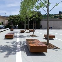 wood benches outdoor - Bing Images