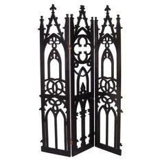3 panel gothic screen liked on polyvore featuring home home decor gothic home