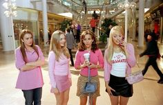 """This picture may be familiar to some. It comes from the movie,""""Mean Girls"""". This picture show how a individual is introduced to bullying. A individual may have been bullied in the past, and thinks bullying others will make themselves cool."""
