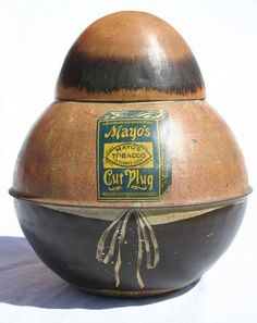"1309: Mayo's Cut Plug Roly Poly tobacco tin ""The Storek : Lot 1309"