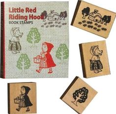 Amazon.com: Favorite stamp Book stamp set / Little Red Riding Hood: Arts, Crafts & Sewing
