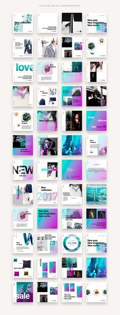 BRONX Social Media Pack by DimaIsakov on @creativemarket