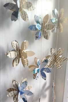 Craft ideas cute paper garlands beautiful