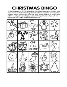 Free Printable Christmas Bingo Cards - Best Template Collection