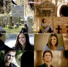 i thought i like damon and elena together but stefen is the better man for elena the chemestry is awesome