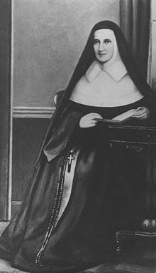 The Venerable Mother Catherine Elizabeth McAuley (29 September 1778 – 11 November 1841) was an Irish nun, who founded the Sisters of Mercy in 1831. The Order has always been associated with teaching, especially in Ireland, where the nuns taught Catholics (and at times Protestants) at a time when education was mainly reserved for members of the established Church of Ireland.