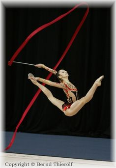 Anna Bessonova (UKR). The loongest legs EVER!