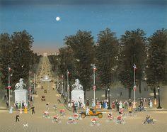 Michel Delacroix, Arrivee du Tour de France sur les Champs-Elysees