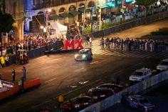 World Rally Championship arrancó en el Zócalo capitalino el Rally México