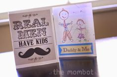 Home Made DIY Card Gift Ideas For Father's Day 2014