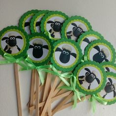 Shaun the sheep themed party