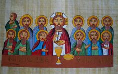 The Last Supper - Coptic