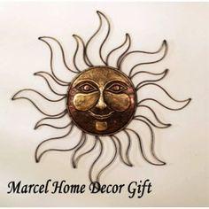 I Like This Sun Metal Wall Art Decor