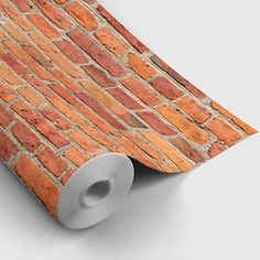 Red Brick Peel and Stick Wallpaper Peel and Stick Temporary Brick Wallpaper, Wallpaper Panels, Vinyl Wallpaper, Peel And Stick Wallpaper, Temporary Wallpaper, Removable Wall Stickers, Faux Stone, Red Bricks, Decorating Tools