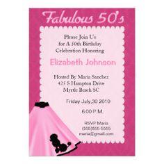 Free Sock Hop Clip Art All Digital Invitation Designs 1950s