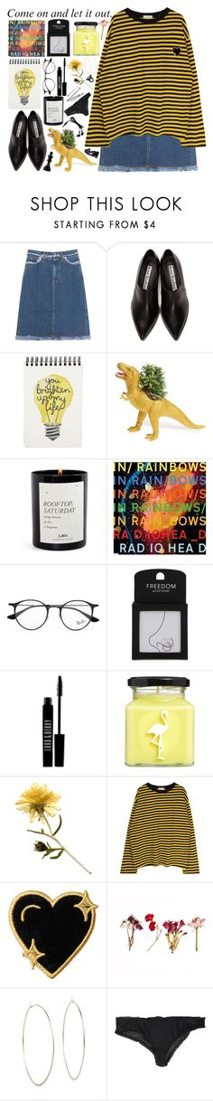 """""""words are blunt instruments"""" by hannah-gw-martin ❤ liked on Polyvore featuring Acne Studios, The Plaid Pigeon, Ray-Ban, Topshop, Lord & Berry, Flamingo Candles, Stoney Clover Lane, Michael Kors, Forever 21 and H&M"""