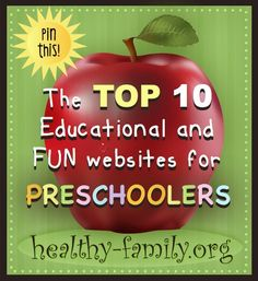 Bookmark this hub page of the top ten best preschool websites for children. These sites are free and accessible through the internet on any computer or device with a regular browser and flash.