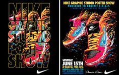Nike graphic studio poster