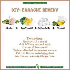 DIY Earache Remedy