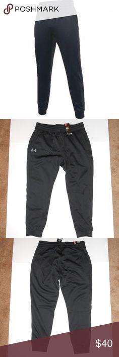 4e4b1a2d7bd0 Men s Under Armour Storm Fleece Jogger Pants Brand new sz XLarge Fleece  lining UA Storm technology
