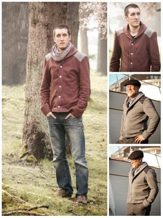 Purchase Thread Theory Designs 01 Newcastle Cardigan Downloadable Pattern and read its pattern reviews. Find other Mens,  sewing patterns.