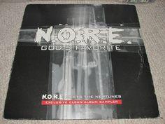 #NORE Meets The #Neptunes – God's Favorite (Album Sampler) #DefJam #Noreaga #DrinkChamps #hiphop #ebay