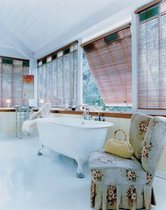 Philippe Starck designed the freestanding sink in the master bathroom of his Cap Ferret, France, home.