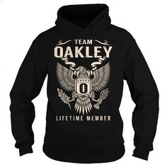 [Tshirt Decorating,Big Tshirt] Team OAKLEY Lifetime Member - Last Name, Surname T-Shirt. CHECK PRICE => https://www.sunfrog.com/Names/Team-OAKLEY-Lifetime-Member--Last-Name-Surname-T-Shirt-Black-Hoodie.html?id=68278