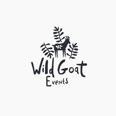 Clover & Crow - I love finding new and inspiring people to follow in Insta and this woman's work is so cute and whimsical, it's my new fave account! Wild Goat Events by @rosieharbottle  . . . . . #adobe #inspo #typeography #creativelifehappy #branddesign #minimal #minimaldesign #adobe #inspiration #modern #logo #branddesign #graphicdesign #customdesign #designstudio #designlife #instadaily #branding #brand #inspiration #logodesign #monochrome #dailyinspo #winnipeg #wpg