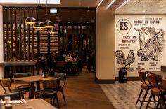 És Bisztró http://www.esbisztro.hu/   #budapest #restaurant #esbistro #design #restaurantdesign