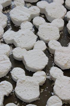 Homemade Mickey Marshmallow recipe | sweet Mickey Mouse-shaped marshmallows…