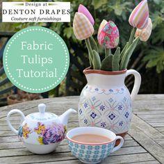 Fabric Tulips Tutorial