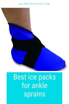 Have you sprained your ankle, check out some ice packs for ankle sprains. Having a good ice pack on hand is a great way to reduce pain and inflammation if you have an ankle sprain. Resuable ice packs can be used for other injuries as well. Ankle Pain, Heel Pain, Foot Pain, Ankle Surgery, Ice Packs, Sprained Ankle, Packing, Gout, Achilles