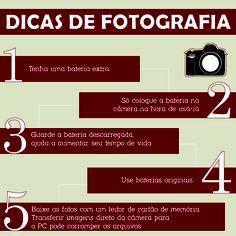 Como você cuida da bateria da sua câmera digital? Confira nossas dicas para cuidar melhor dela! #Fotografia