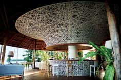 Dedon Island Resort on Sargiao Island in Philippines by French  designers Jean-Marie Massaud and Daniel Pouzet