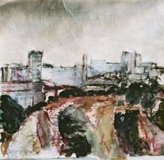 Florian Foerster 'View from Red Bank' - Mixed Media