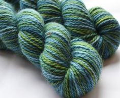 love these colors!! hand-dyed yarn from thenaturaldyestudio.com